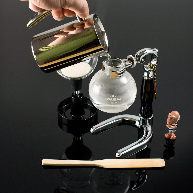how to use siphon coffee maker