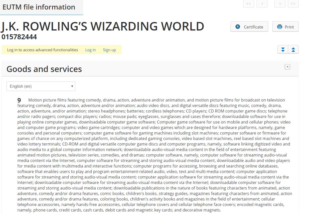 JK Rowlings Wizarding World