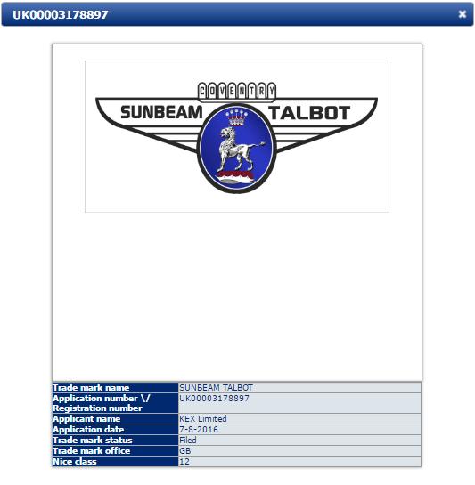 Sunbeam Talbot