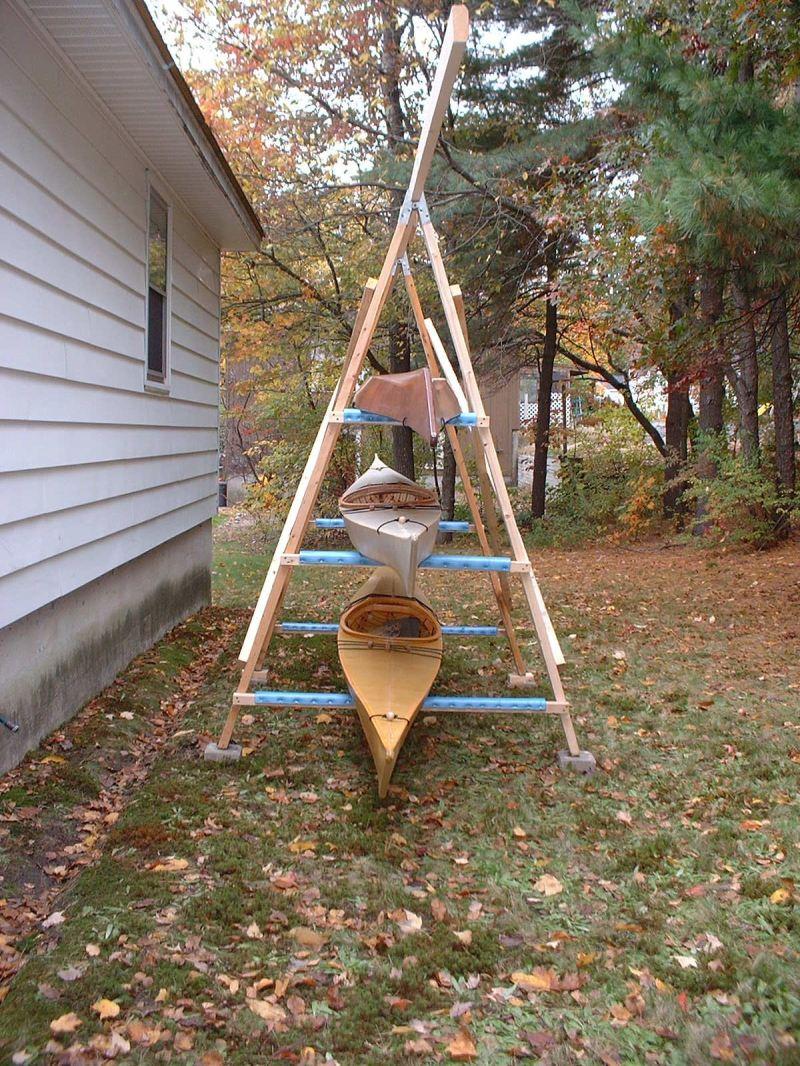 Large Of Kayak Storage Ideas