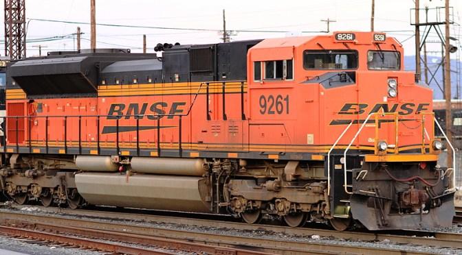 DAILY POST: BNSF SD70ACE at Enola, Pennsylvania.