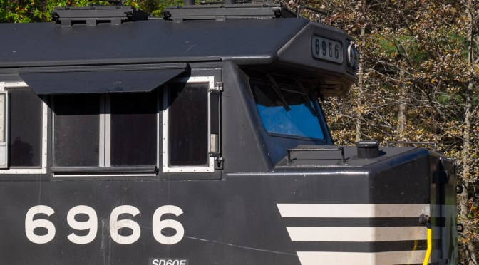 Locomotive Geometry: Norfolk Southern SD60E.