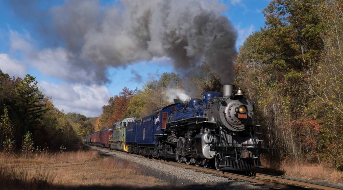 Reading & Northern 425 on the old Central Railroad of New Jersey.