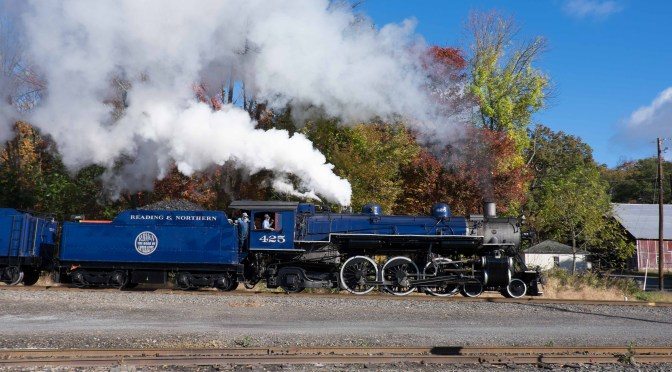 Blue Pacific at Zehners, Pennsylvania—October 17, 2015.