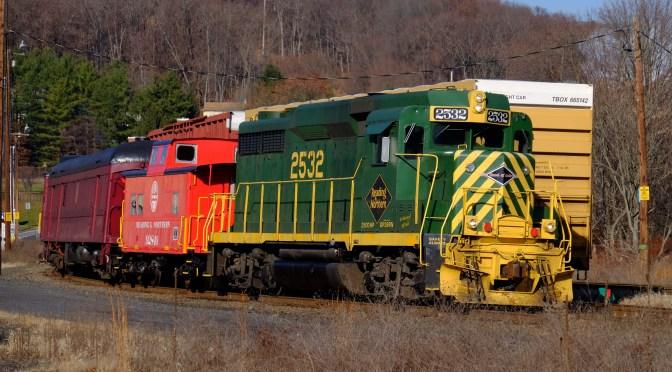 Reading & Northern: Cressona, Pennsylvania—Retro Railroad Fantasy?