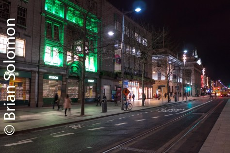 New LUAS track on O'Connell Street will soon host French-built trams.