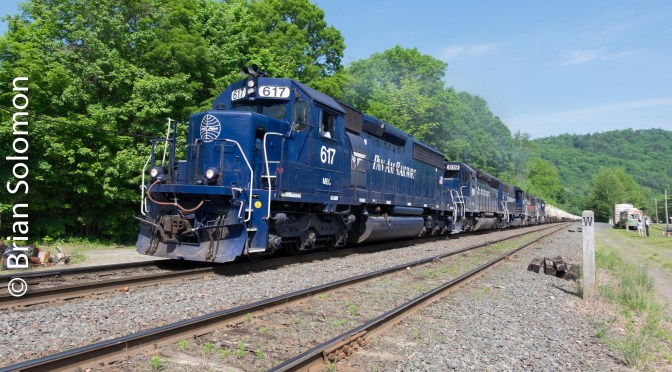Busy Day on Pan Am Southern's West End—ten new photos.