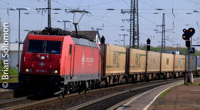 Rastatt Part 2; German freight hotspot.
