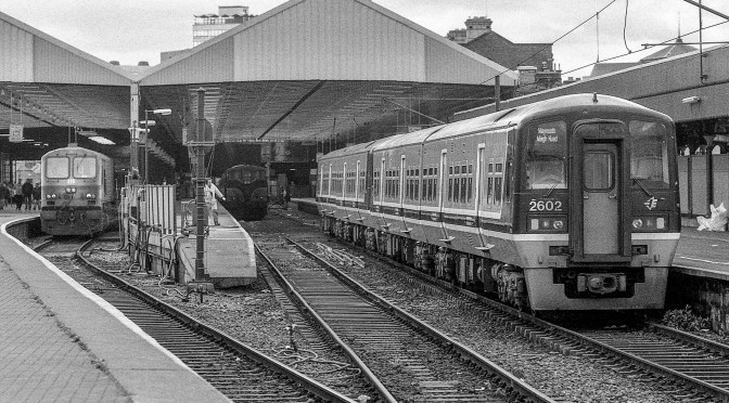 Irish Rail's Connolly Station—April 1998.