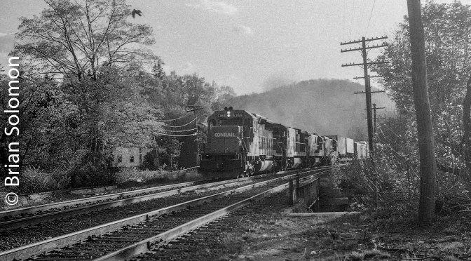 Conrail-Gauzy Visions from another era;—the Lost Photo File, Part 2.