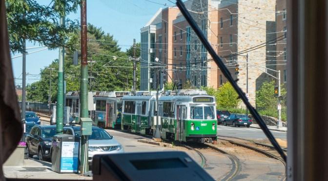 Boston Green Line Déjà vu.