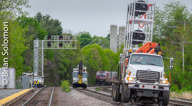 Fitchburg Review: Pan Am, MBTA and New Signals—10 New Photos.