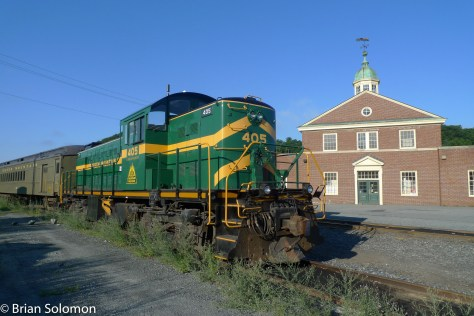 Tourist trains.