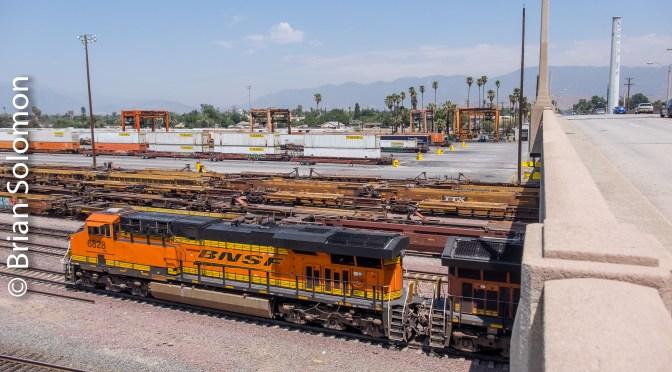 One Month Ago: In the Shadow of the Santa Fe—San Bernardino, California—Six Images.