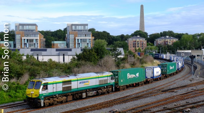 Irish Rail IWT Liner; A lesson in RAW and JPG.