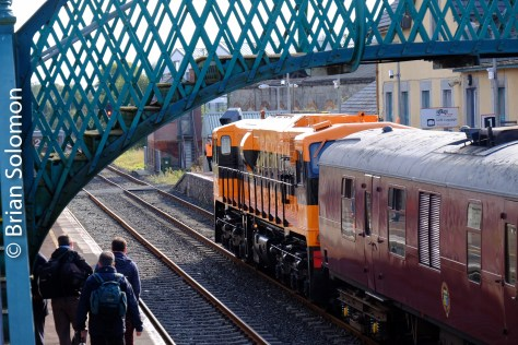 Irish Rail Tracking The Light