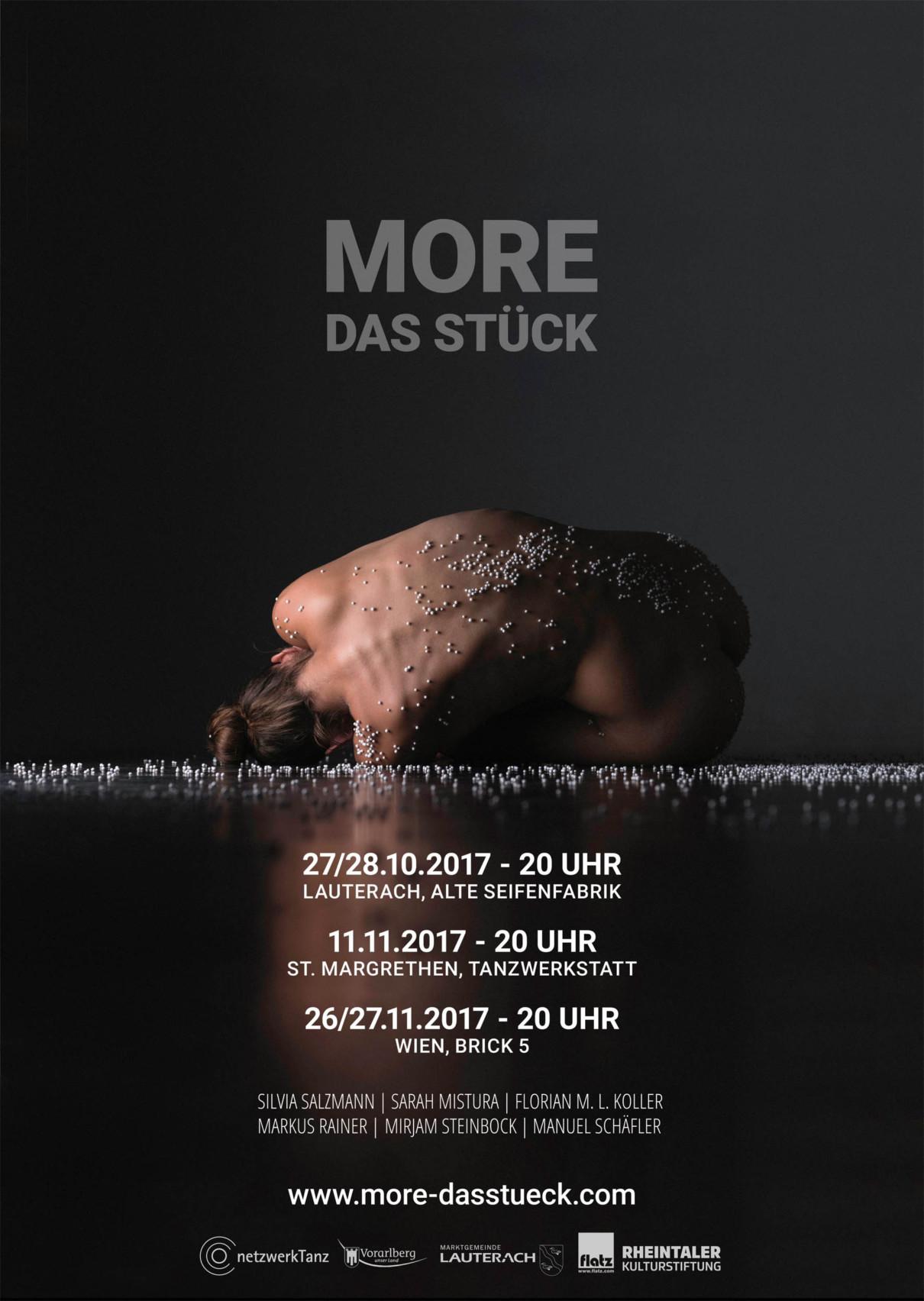 MORE – Das Stück