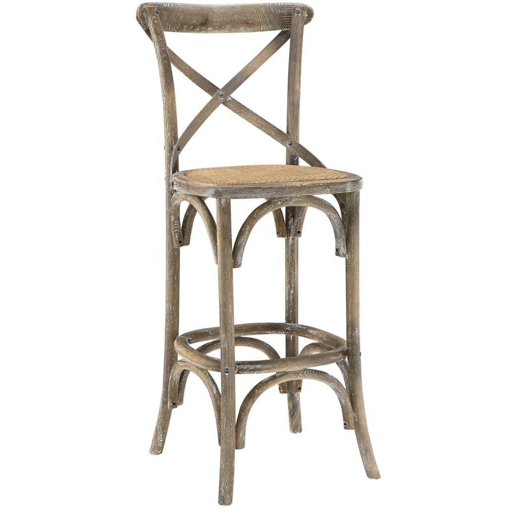 Contemporary Lear Seats X Distressed Grey Wood Barstool X Wood Barstool Brickell Collection Furniture Store Wood Bar Stools Walmart Wood Bar Stools houzz-03 Wood Bar Stools