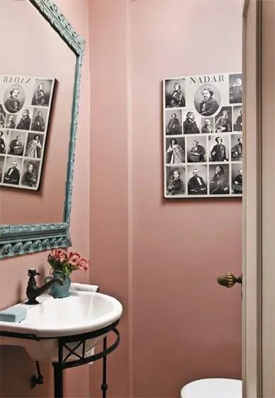salle de bain en rose Choisir la couleur de la salle de bain   21 Idées de couleurs