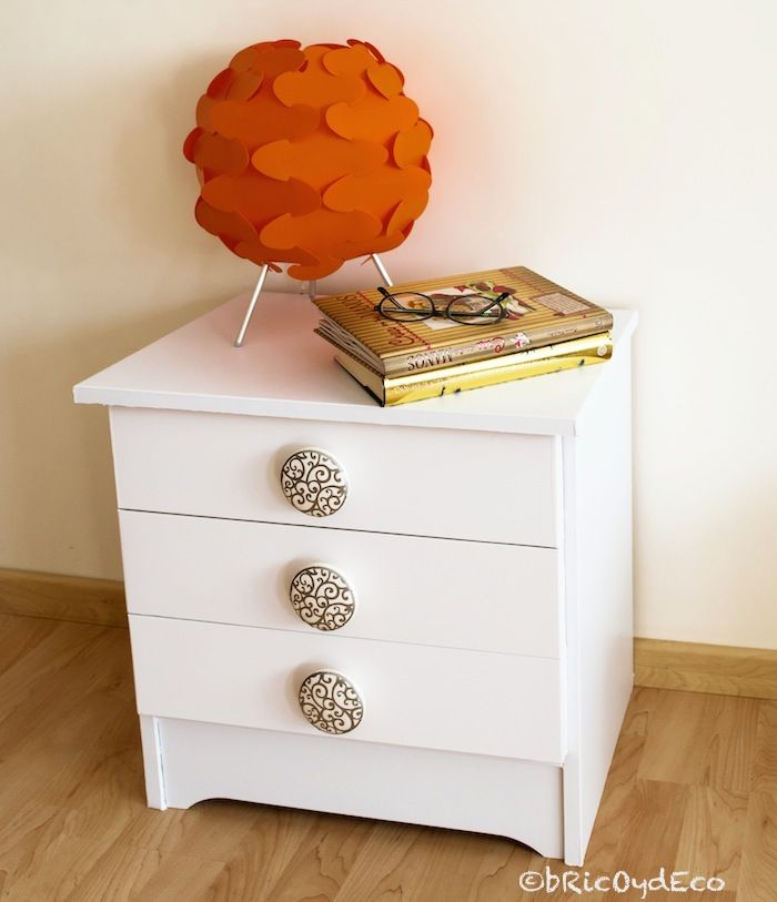 forrar muebles con vinilo antes y despu s de una mesita