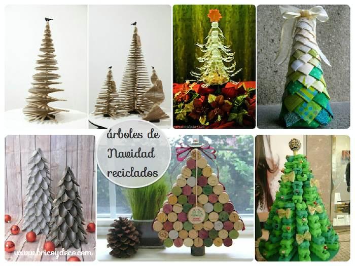 40 rboles de navidad originales y diferentes - Arboles de navidad de diferentes materiales ...