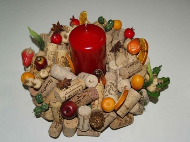 Centrotavola Matrimonio Rustico Fai Da Te : Ideas para reciclar tapones de corcho