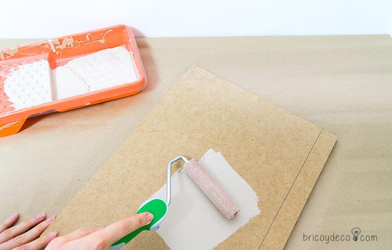 cómo hacer una mesita auxiliar DIY paso a paso