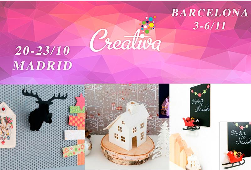 talleres Creativa Madrid y Barcelona 2016, Bricoydeco.com