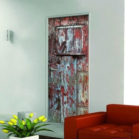 Decorar la casa fácil: simpáticos vinilos para puertas