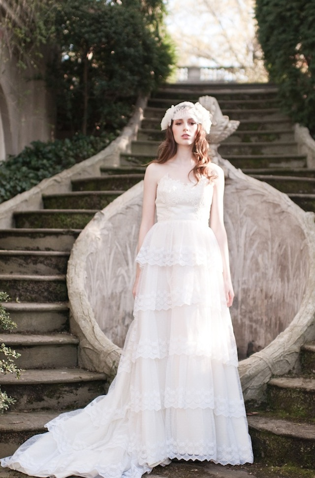 Beautiful Bridal Headpieces from Enchanted Atelier by Liv Hart 2015 – Part 1