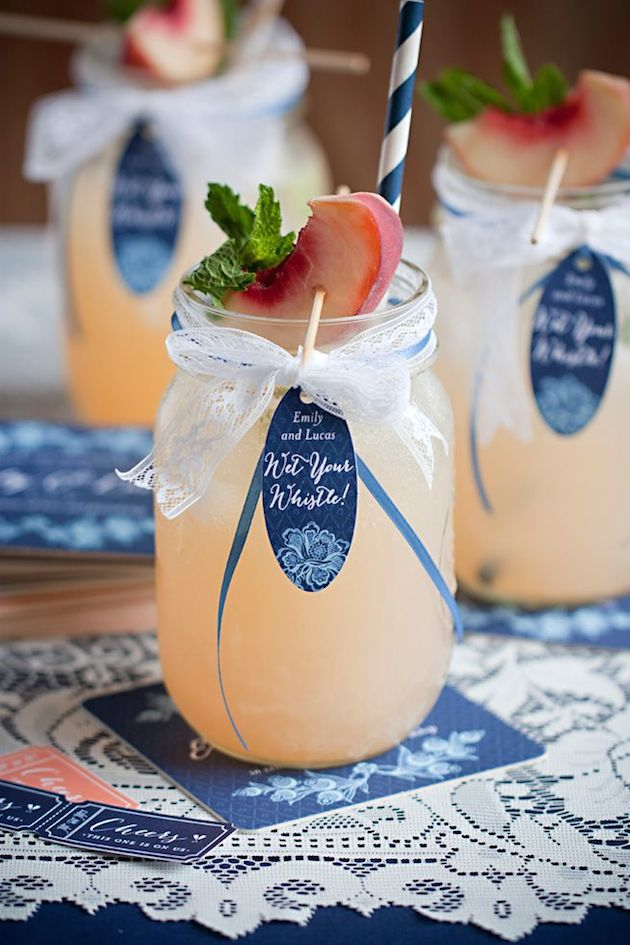 Cute Cocktails | Wedding Ideas | Bridal Musings Wedding Blog 3