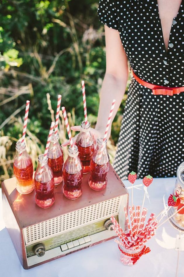 Cute Cocktails | Wedding Ideas | Bridal Musings Wedding Blog 8
