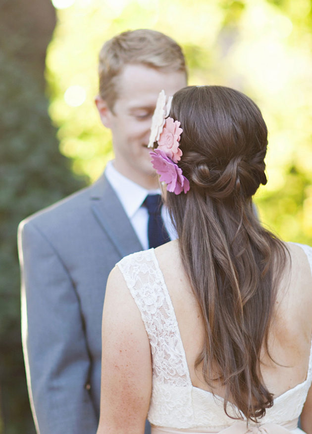 Hairstyles For Your Wedding : 15 gorgeous half up down hairstyles for your wedding crazyforus