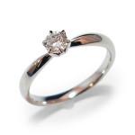 典型的な婚約指輪ダイヤリング枠(4c1710)