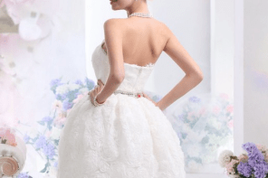 Season's best wedding trend: Cocomelody Short wedding dress