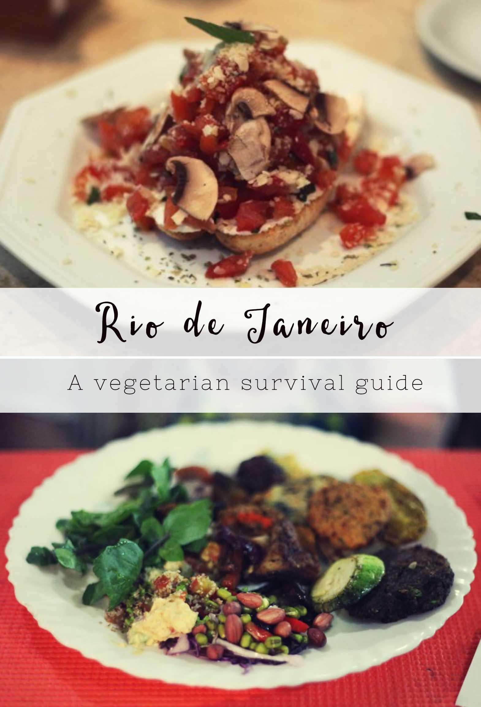 The best vegetarian restaurants in Rio de Janeiro