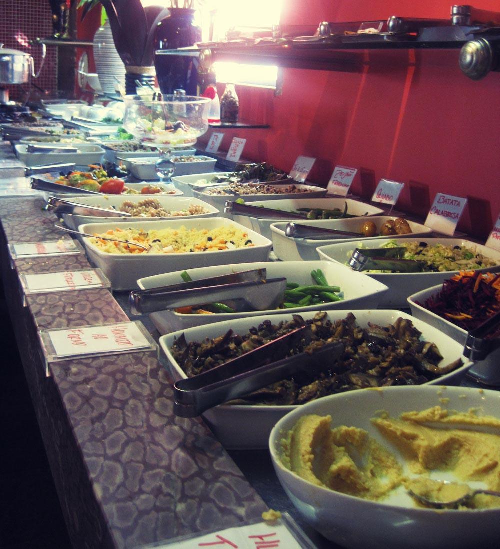 Vegetarian options in Rio de Janeiro Brazil