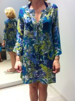 Ms. Chic in her Tommy Bahama Coverup