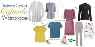 spring wardrobe capsule