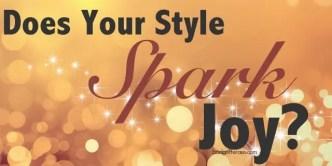 sparks joy