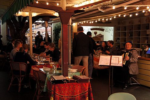 ...and a place to enjoy live music while dining