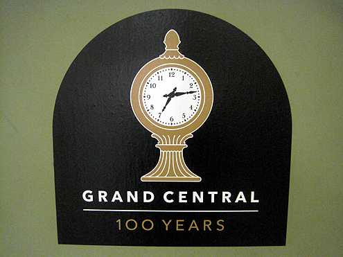 The famous clock inside Grand Central Terminal has been smartly marketed as the station's brand and logo