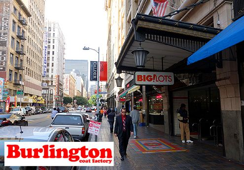 A Burlington store will replace Big Lots at 7th/Broadway