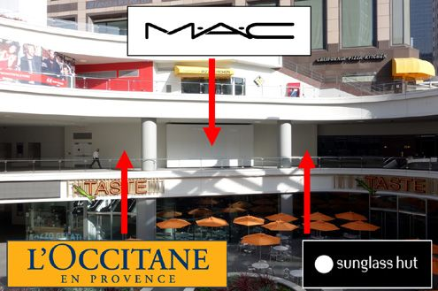 A new MAC Cosmetics store is coming to FIGat7th this spring along with L'Occitane and Sunglass Hut on the City Target level