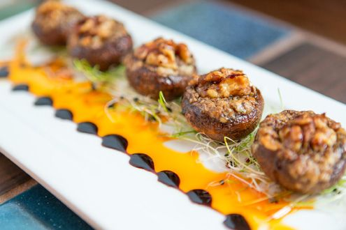 Stuffed mushrooms (Photo: Hunter Kerhart)
