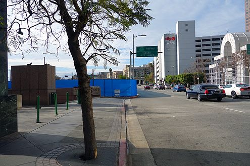Another view looking west along 8th Street