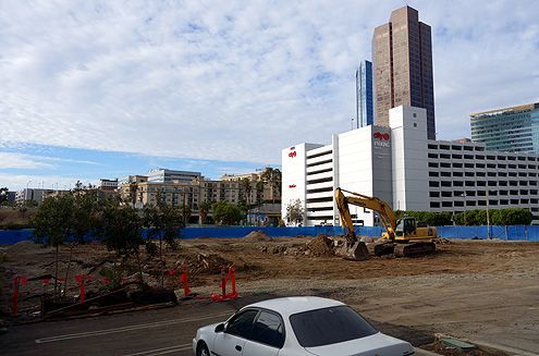 Completion for the new parking structure is slated for late 2014/early 2015