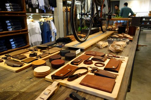 Tanner Goods leather goods