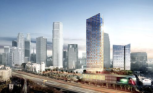 Chinese Developer Greenland Begins Construction on $1 Billion Metropolis Project in Downtown LA