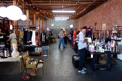 Arts District Flea has a capacity for up to 60 different vendors